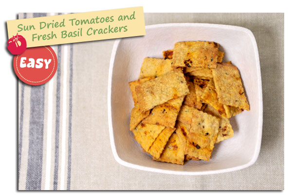 Gourmet Crackers Experiment - Sun Dried Tomatoes with ...
