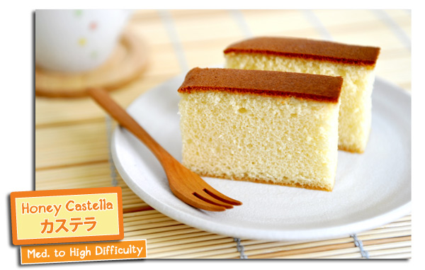 Japan Honey Cake Recipe: Yummy Workshop