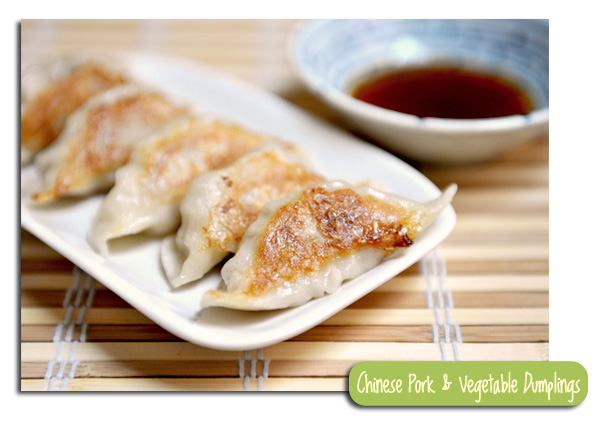 Pork and Vegetable Dumplings - My Way - Yummy Workshop
