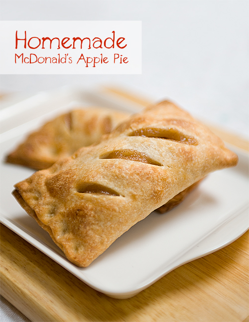 Homemade McDonald's Apple Pie + Book Giveaway [CLOSED] - Yummy ...